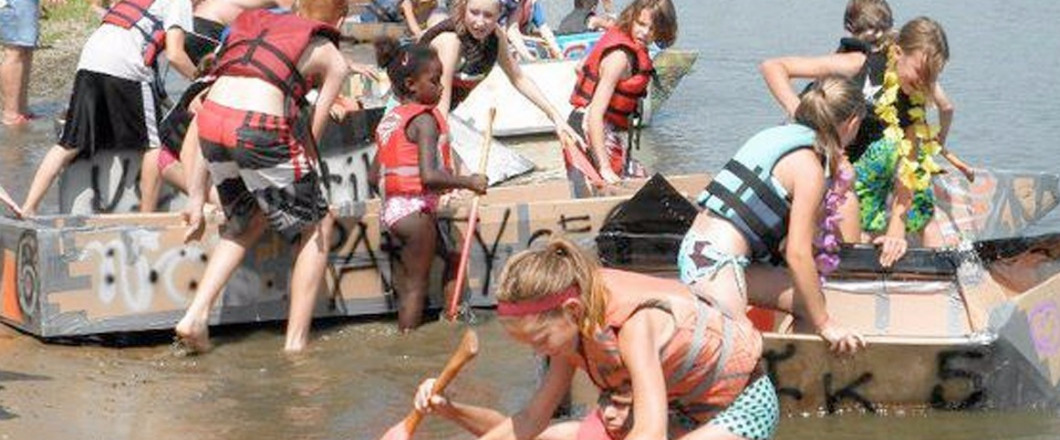 Bobber's Cardboard Boat RaceAugust 11th Registration starts at 12pm